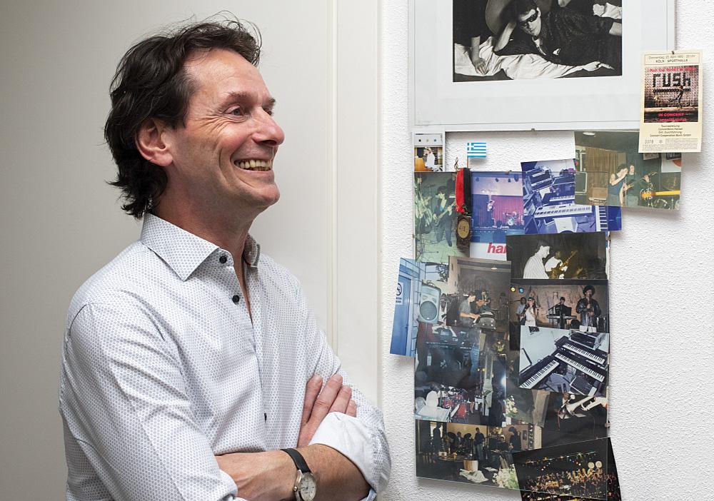 Wim Cooijmans, toetsenist, docent en pianist